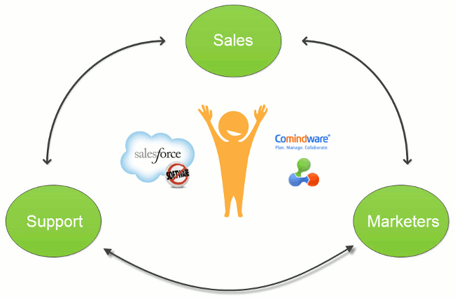 Comindware Tracker Salesforce integration