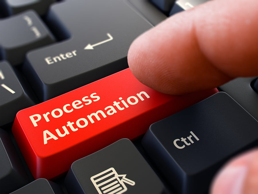 Process Automation - Clicking Red Keyboard Button.
