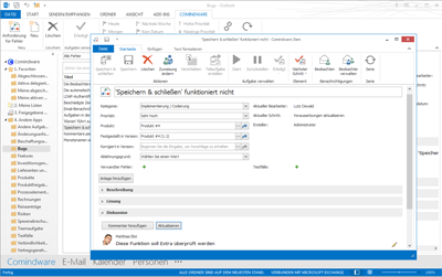 MS Outlook Workflow Tool
