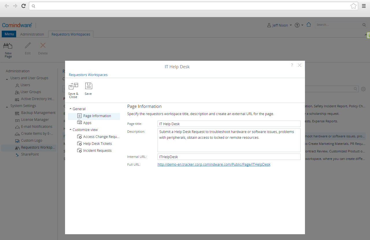 simplification interface and workflow in MS SharePoint